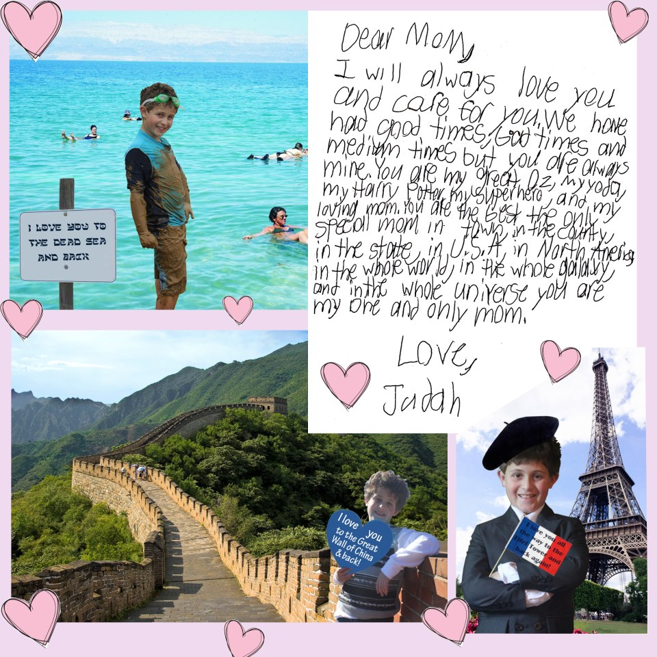 Son Writes His Mom A Letter For Valentine S Day Bashert04
