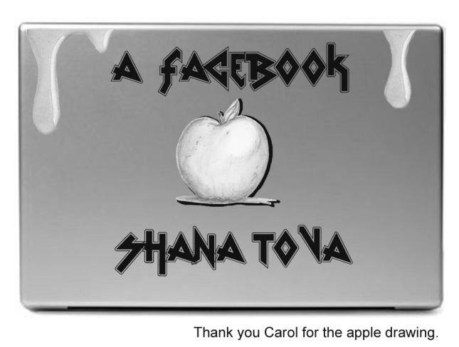 Facebook Shanah tova